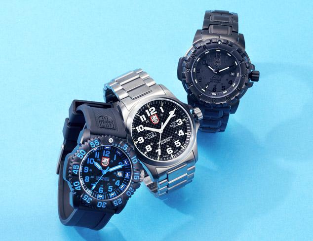 Military Precision Luminox Watches at MYHABIT