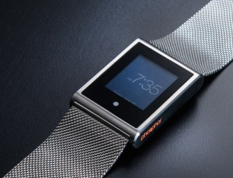 Phosphor Touch Time: New Generation of Digital Watches