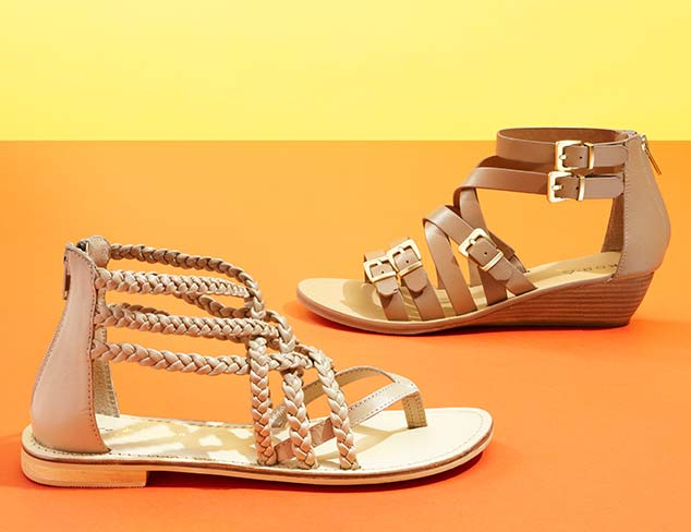 Strappy & Cut-Out Sandals & Pumps at MYHABIT