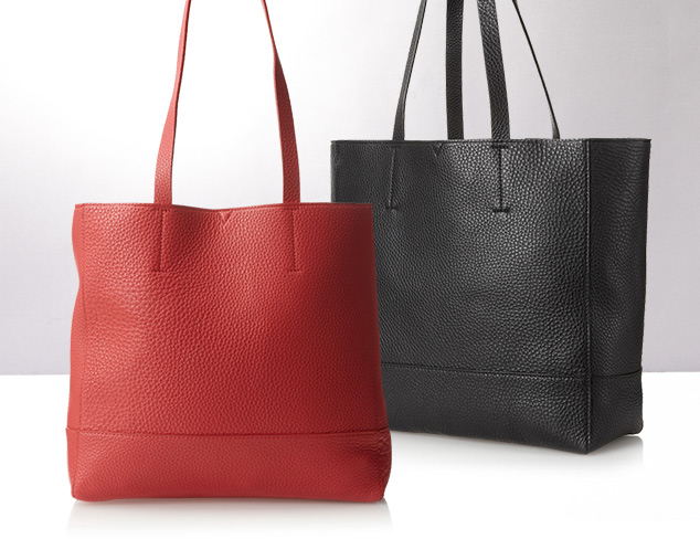 The Unlined Tote at MYHABIT