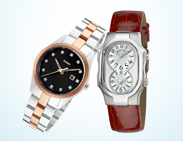 Watches feat. Philip Stein, Rado & More at MYHABIT