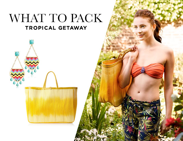 What to Pack Tropical Getaway at MYHABIT
