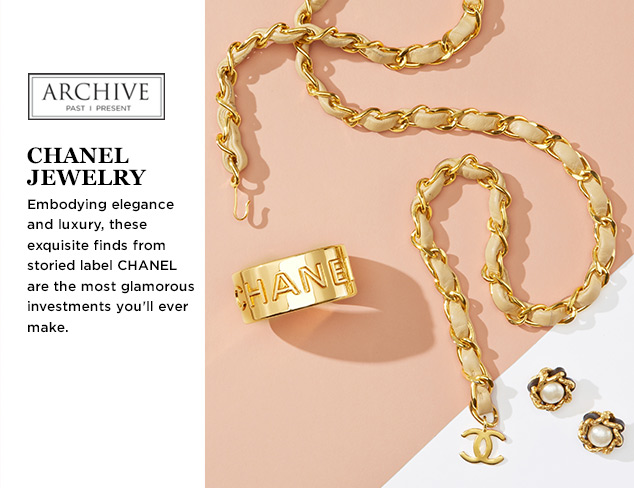 ARCHIVE: CHANEL Jewelry at MYHABIT