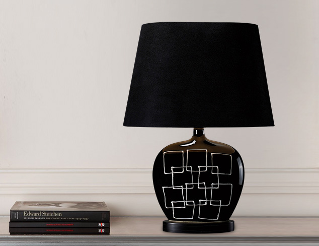 Artistic Lighting Capelle Geometric Table Lamp