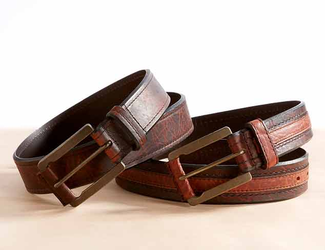Belts by Color: Casual Brown Styles at MYHABIT