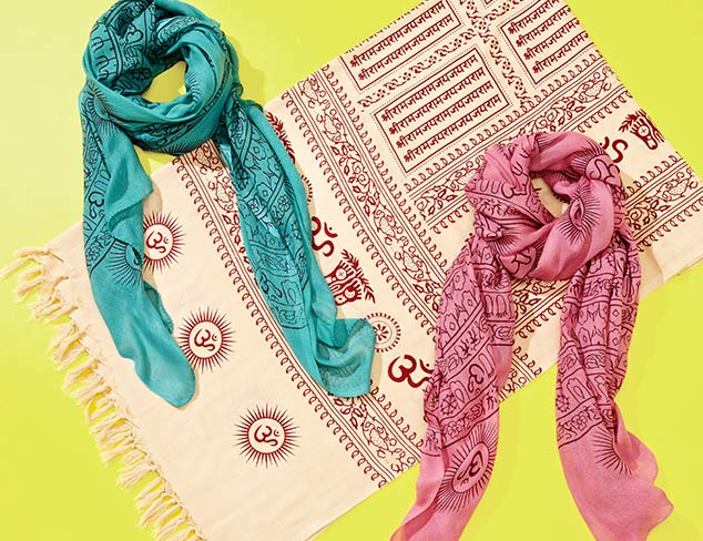 Bold & Bohemian Sir Alistair Rai Scarves at MYHABIT