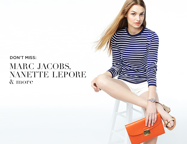 Don't Miss: Marc Jacobs, Nanette Lepore & More at MYHABIT