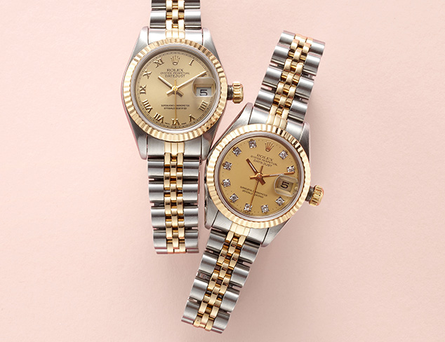 Jet Set Luxe: Timepieces at MYHABIT