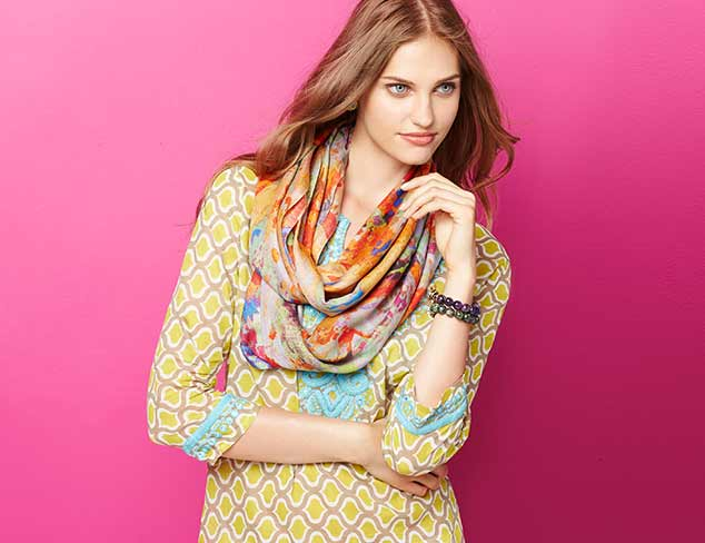 Saachi Tunics, Scarves & Jewelry at MYHABIT