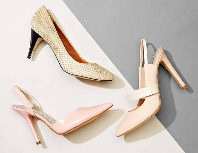 Sleek Style: Pumps & Sling-Backs at MYHABIT