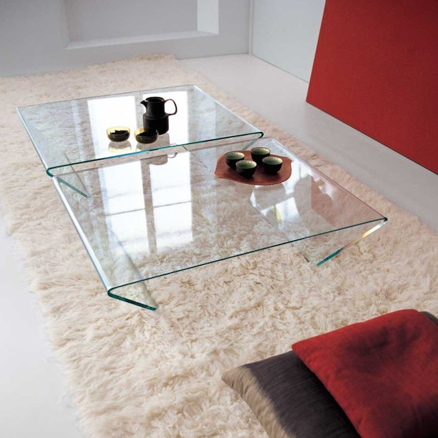 Sovet Italia Rubino Square Coffee Table