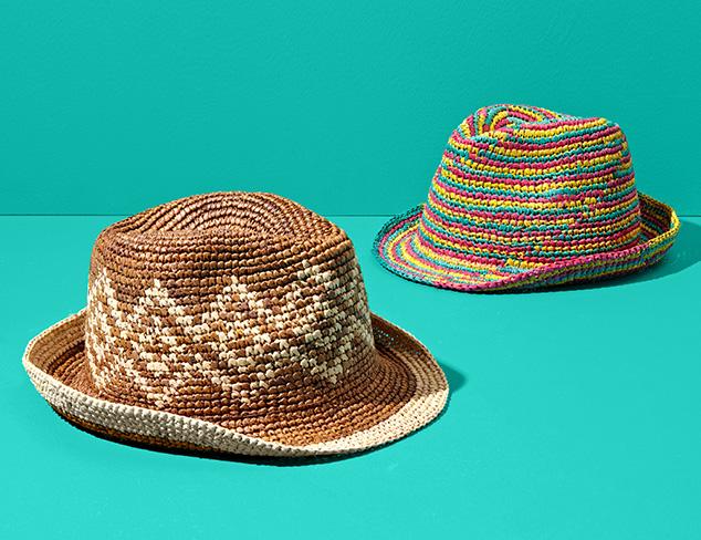 Summer Hats feat. Giovannio & Straw Studios at MYHABIT