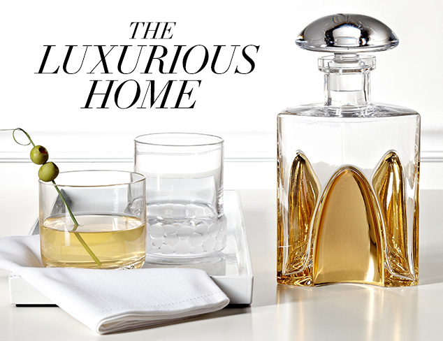 The Luxurious Home Eisch Glassware at MYHABIT