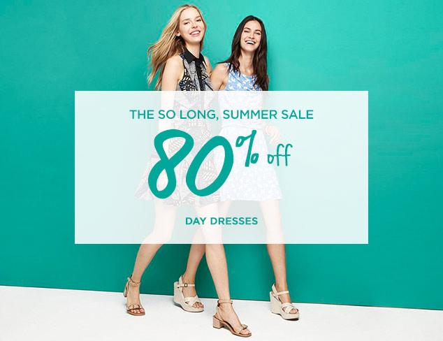 80% Off: Day Dresses at MYHABIT