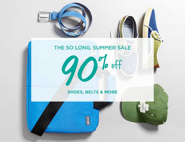 90% Off: Shoes, Belts & More at MYHABIT