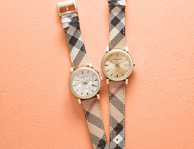 Burberry Watches at MYHABIT