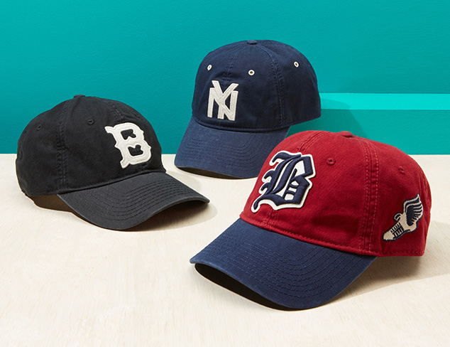 Cap It Off: Baseball, Ivy & More at MYHABIT
