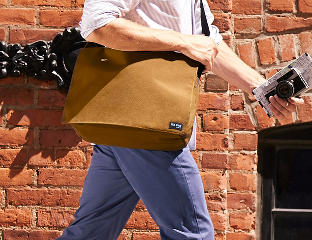 Easy to Carry: The Messenger Bag at MYHABIT