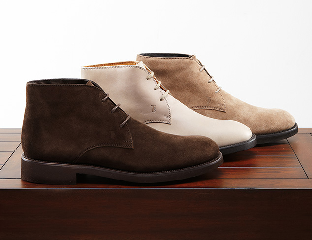 Fall Preview: Designer Chukkas & Boots at MYHABIT