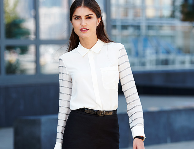 Polished & Professional: The Blouse at MYHABIT
