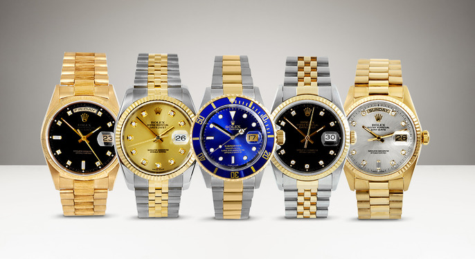 Vintage Watches: Rolex, Omega & More at Gilt