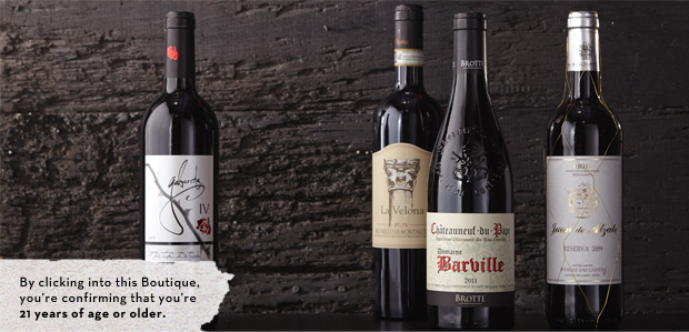 90-Plus-Rated Wines from Spain, Italy, & France at Rue La La