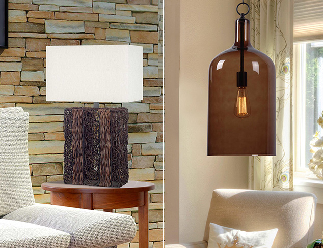 Almost Gone: Lamps, Chandeliers & More at MYHABIT