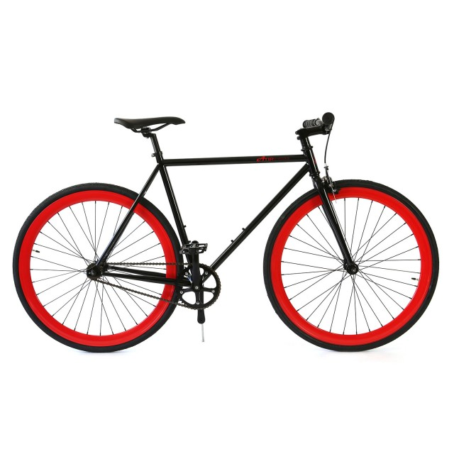 Atir Cycles // Single Speed // Black + Red