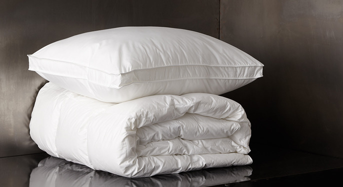 Bedding Upgrade: Down Pillows & Comforters at Gilt