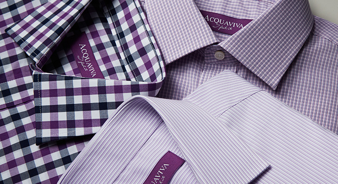 Classic Dress Shirts Feat. Acquaviva at Gilt