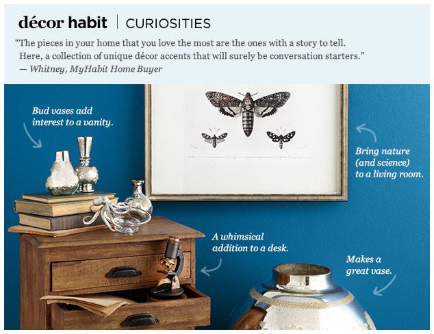 Décor Habit: Curiosities at MYHABIT