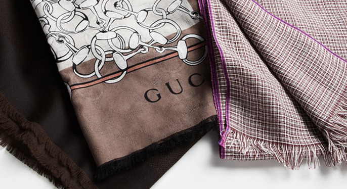 Designer Scarves at Gilt
