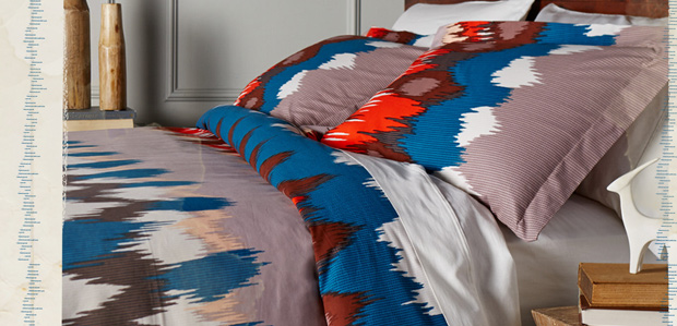 Dream Big: Bed & Bath Linens in Global Prints at Rue La La