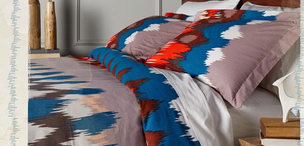 Dream Big: Bed & Bath Linens in Global Prints at Rue La La