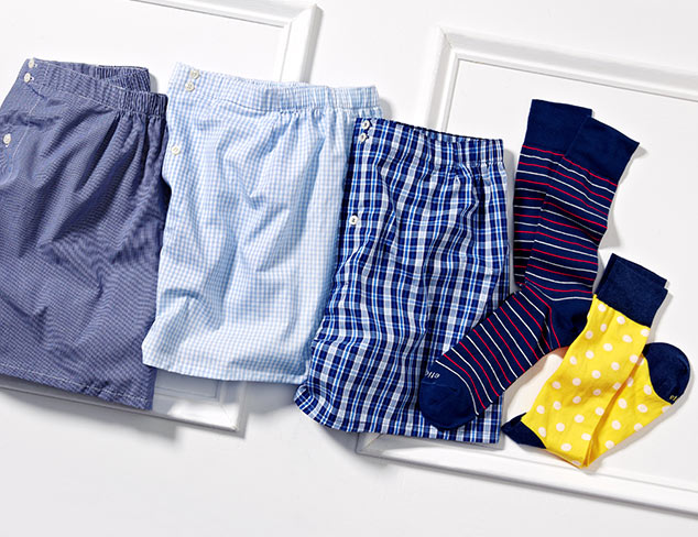 Etiquette Underwear & Socks at MYHABIT