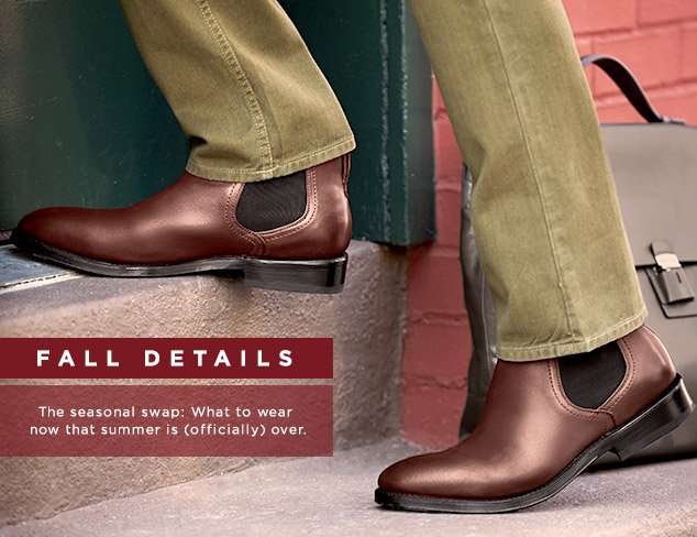 Fall Details: The Chelsea Boot at MYHABIT