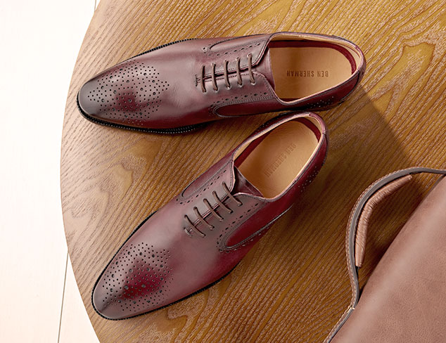 Fall Details: The Lace-Up Brogue at MYHABIT