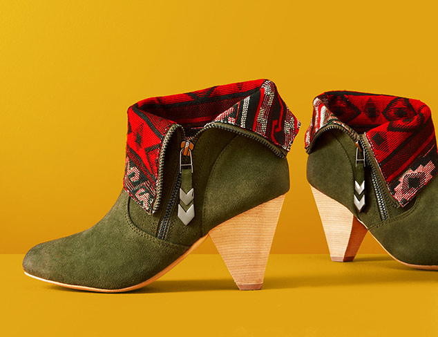 Fall-Ready Finds: Shoes feat. Splendid at MYHABIT