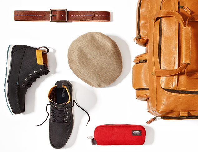 Fall Shoes & Accessories for a Weekend Road Trip at MYHABIT