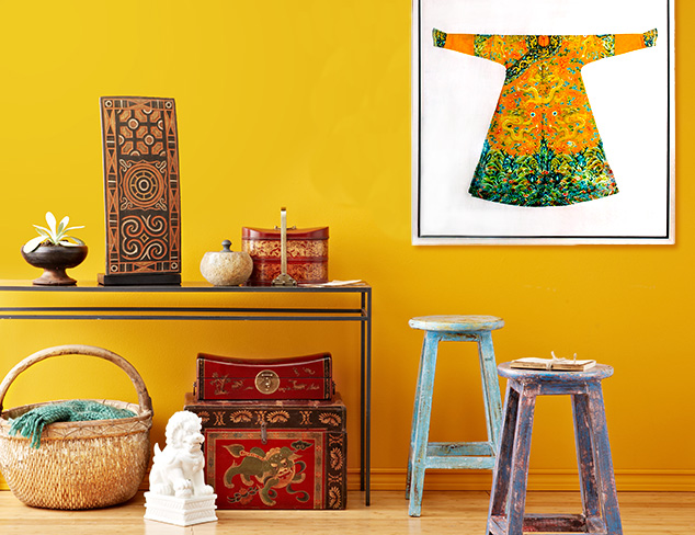 Far East Inspirations: Furniture & Accents at MYHABIT