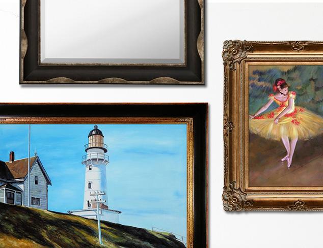 Go Grand: Artwork & Mirrors at MYHABIT