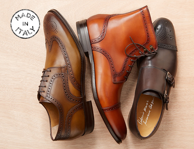 Made in Italy: Shoes & Boots at MYHABIT