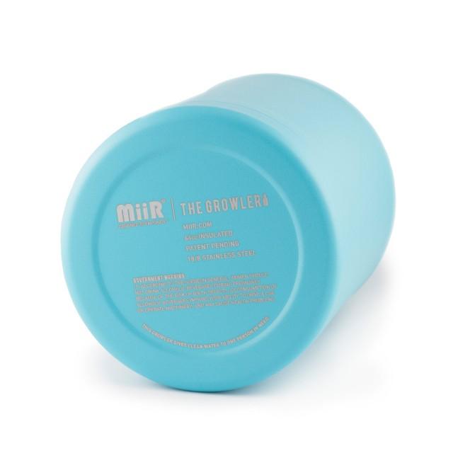 MiiR Vacuum Insulated Growler in Brushed Blue