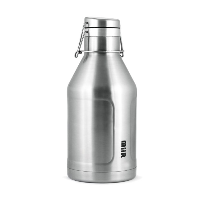 MiiR Vacuum Insulated Growler in Brushed Stainless