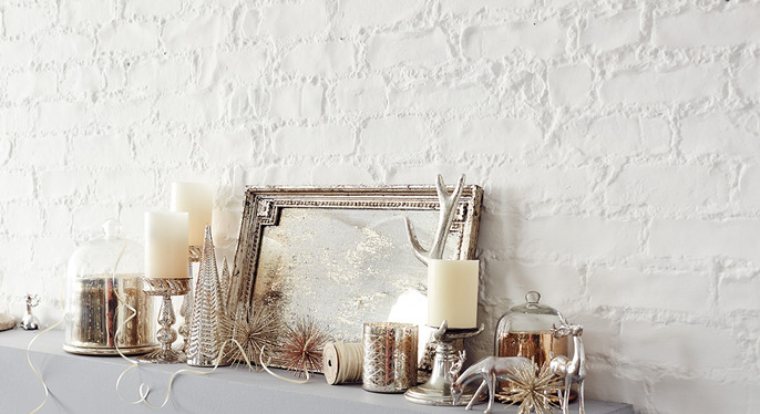 Modern Luxe Holiday Decor at Gilt