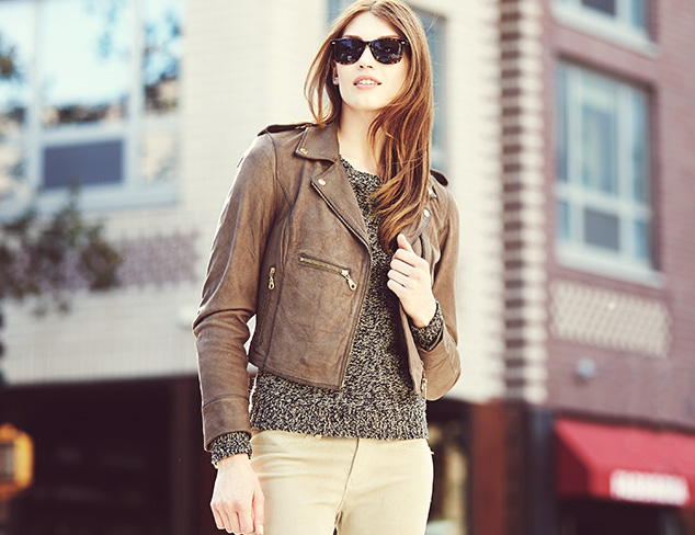 Moto Chic: Outerwear at MYHABIT