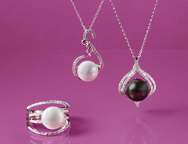 Pearls & Diamonds by Radiance Pearl at MYHABIT