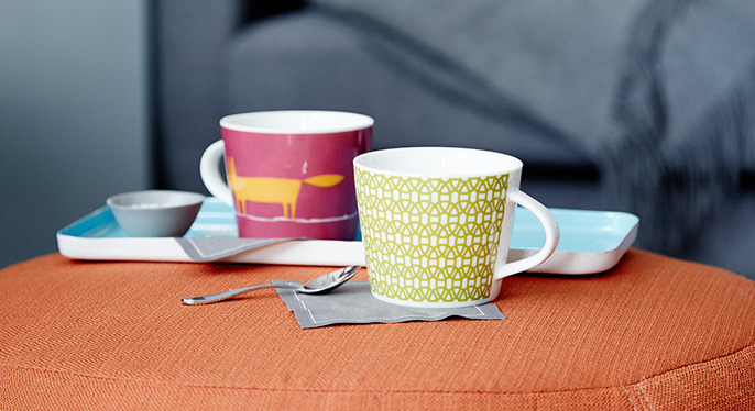 Pop of Color: Accents, Tableware & More at Gilt