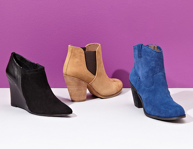 Shoe-Ins: Ankle Boots at MYHABIT