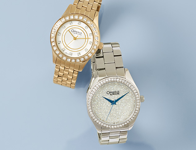 Simply Elegant: Watches feat. Caravelle by Bulova at MYHABIT